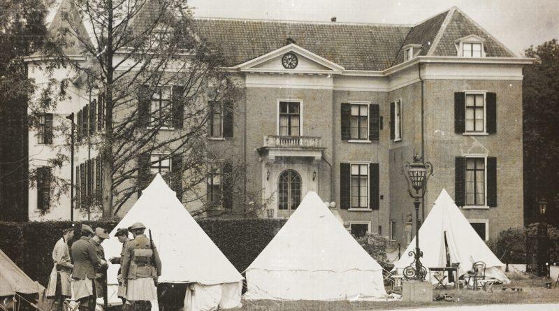 Living History WW1 Huis Doorn.