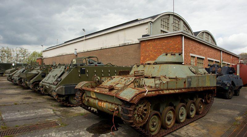 Gunfire & Belgian Tank museum.