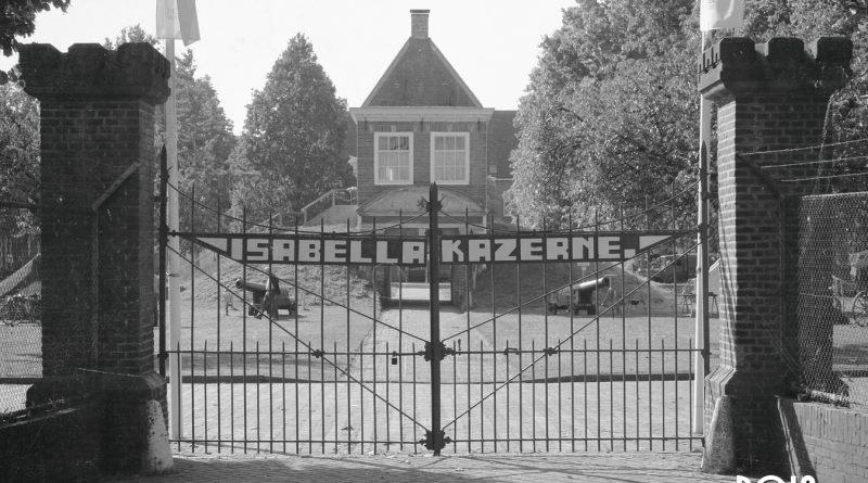 100 jaar kazerne Fort Isabella.