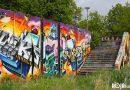 Graffiti Berenkuil Eindhoven.